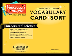 Vocabulary Magic Card Sort